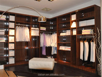 Bedroom wardrobe furniture with fancy modern design