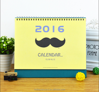 Hot sales office supplies perpetual calendars Fashionable customized Design desk diary calendar