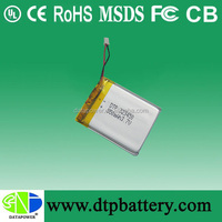 wholesale 3.7v 550mah lipo battery li-polymer battery For Blueteeth,Consumer Electronic Goods