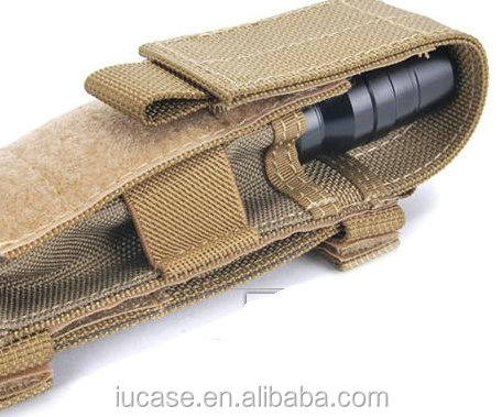 Universal Heavy Duty Nylon Tactical Flashlight Holster