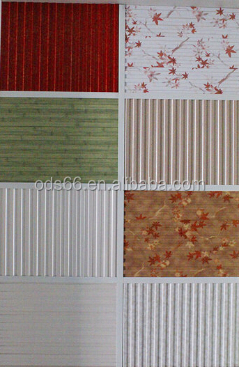 3d bamboo-wood fiber wall panel for tv background
