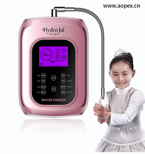 kitchen water ionizer Acidic water softener with 8 level pH water with Japan platinum plate, 11pH welcome use