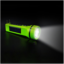 cheap super bright solar led torch with AC charge function