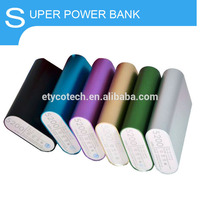 colorful xiaomi 5200mah portable power bank for digital camera/mobile phone