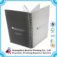 Wholesale High Quality Promotional Printing A5 Design Spiral Notebook
