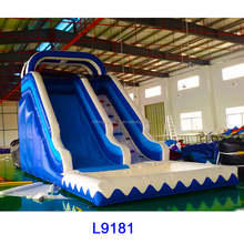 inflatable double lane slip slide, inflatable water slides, 1000 ft slip n slide inflatable slide