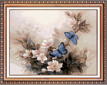 Chinese wholesale butterfly flower handmade 5d diy diamond painting