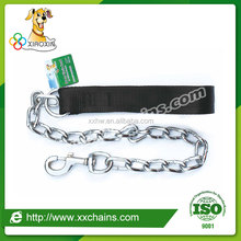 Steel chain dog harness, dog chain lead, pet dog chain leashes