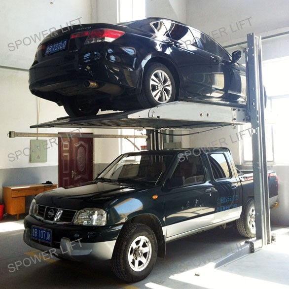 Cheap price hydraulic auto park lift used 2 post car lift for sale