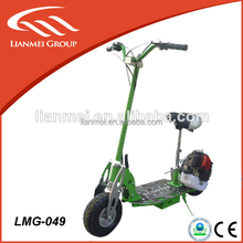 49cc gasoline two stroke engine scooter stand scooter