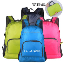 Custom Promotion foldable waterproof travel lightweight back pack
