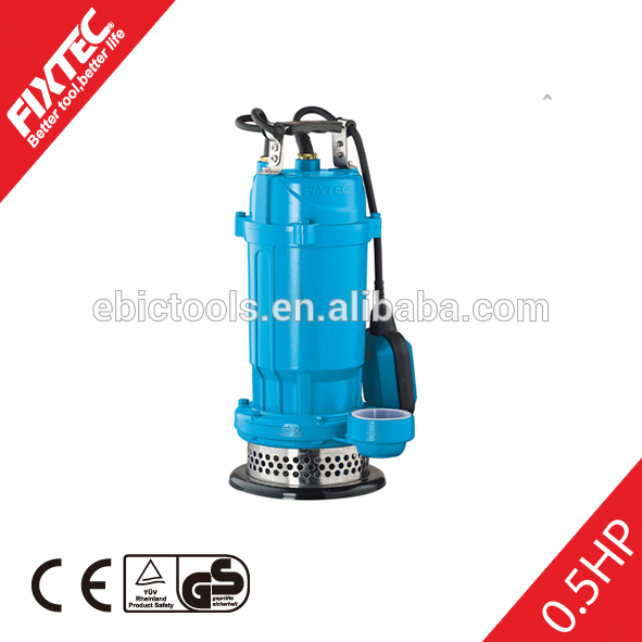 FIXTEC power tools mini electric Accept Customized Water Pump/Submersible Pump For Sale