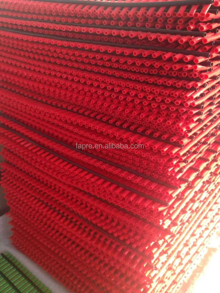 outdoor non-slip plastic pipe tube mat rolls for sale made in china