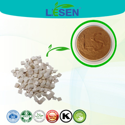 ISO & HACCP certificate Poria Extract powder, Fu Ling extract