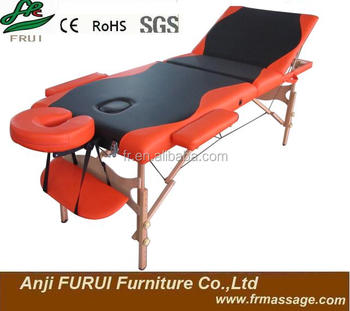 3-section fashional portable massage table cheap massage table thai massage table