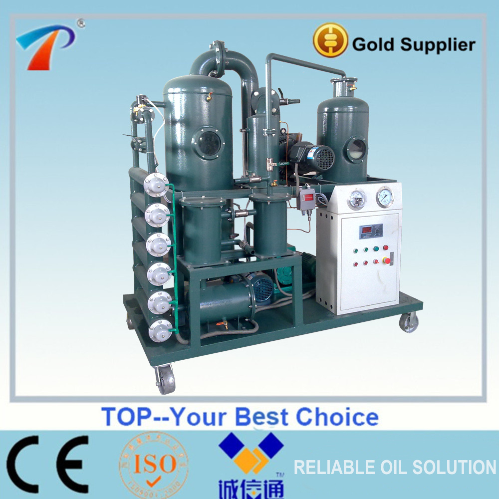Used polluted transformer oil recovery plant