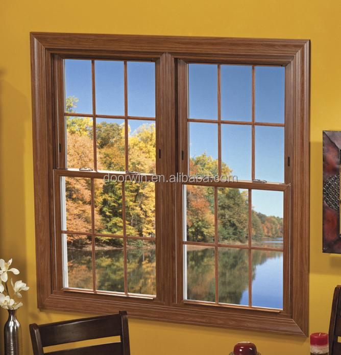 Aluminum Double Hung Windows : Double glazing aluminum hung window single