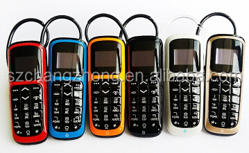 wearable gadgets OLED 0.66 screen wireless bluetooth headset dialer
