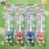 Home design colorful lion cartoon brushing teeth for kids