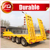 Low Bed Semi Trailer 3 Axles