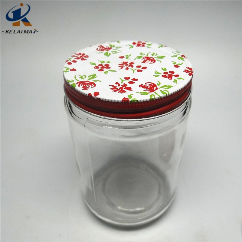 550ml Food storage jar With Tinplate Screw Cap Food Storage Container