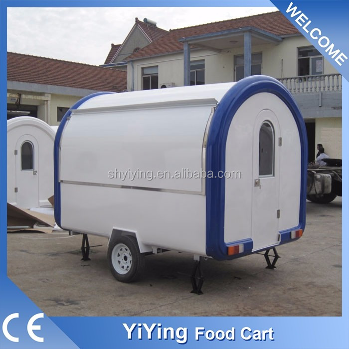 Newly Yiying YY-FR280B hot selling low price mobile fast food kitchen van for sale