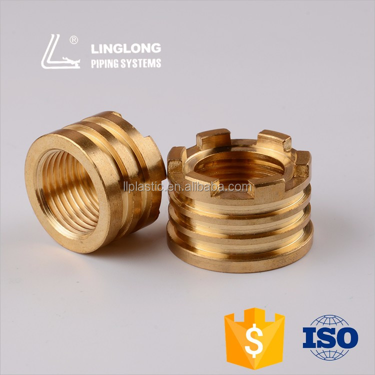 China manufacturer brass female fitting reducing insert