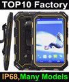 Highton Cheapest 7 inch IP 68 Android rugged tablets GPS+3G Quad-core Rugged Tablet PC with NFC
