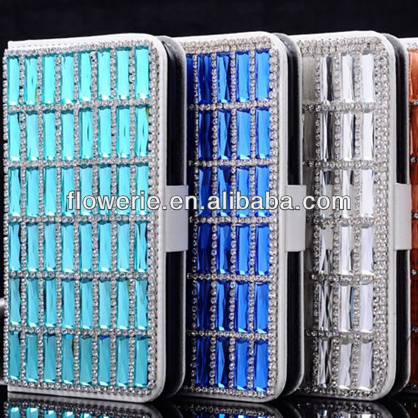 FL2950 2013 Guangzhou hot selling luxury bling diamond crystal star hard case cover for iphone 5c