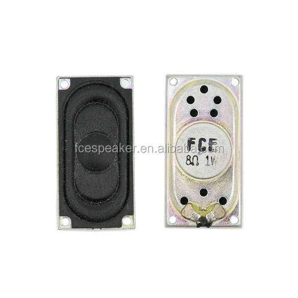 2040 8ohm 1w micro flat speaker with mounting holes