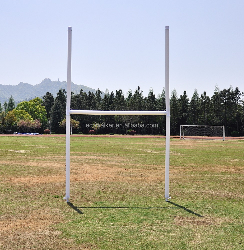 portable safe inflatable rugby goal post with carrying bag