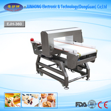 Full touch LCD screen intelligent functional used metal detector food industry