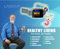 factory dropshipping 650 nm wrist and nasal soft laser therapy device with LLLT CE