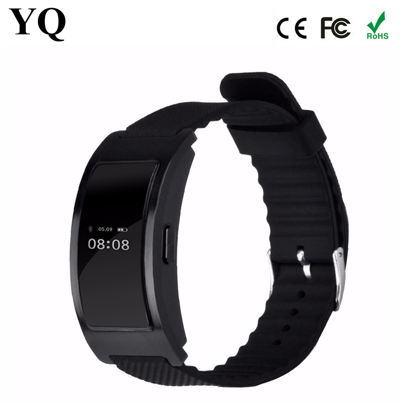 M3 latest Wrist Watch mobile phone 107S pedometer step walking silicone bracelet Wristband with CE certificate