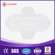 Disposable cotton waterproof sanitary pad 180mm