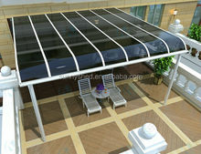 Aluminum Patio Awning Cover,Terrace Canopy, Sunnyshed Garden Pergola, carport, car shed