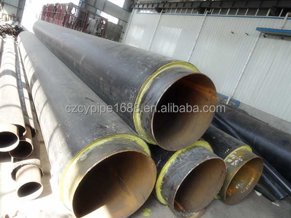 polyurethane foam thermal insulation steel pipe manufacturer