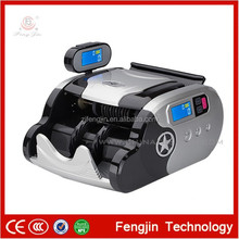 WJDF08F Bill Counter Ultrviolet Magnetic Infrared Counterfeit Money Detector