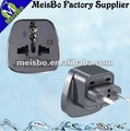 Mini ac power supply 2pin iec plug adapter