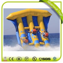 NEVERLAND TOYS Hot Sell towables flying fish Banana Inflatable boats