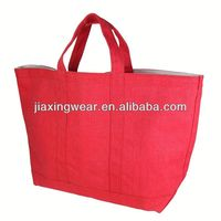 Hot sales factory directly product eco cotton canvas bag for shopping and promotiom