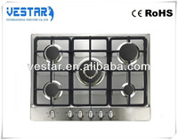 kitchen appliance 5 burners gas cooker / gas cooker components