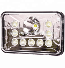 CZG-4655D hot sale high bright 55w 4X6 inch led headlight with FCC CE ROHS for cars trailers trucks