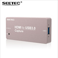 SEETEC metal case mini signal converter HDMI to USB3 capture for time saving