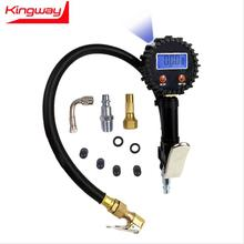 PGD-7 four units 250psi metal digital tire inflator with pressure gauge, 0.1psi resolution and 2 battery.LCD light