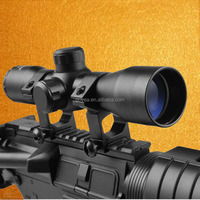 4x32 Rangefinder Rifle Sight Scope with 20mm Rail Mount for Hunting