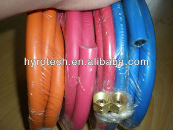 blue smooth rubber air hose manufacturer & supplier