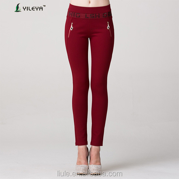 fashionable elastic women tight pants lady sex legging pants
