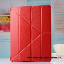 Magnetic Slim PU Leather Smart Cover Stand Case Retina Wake & Sleep Ultrathin Multiple Shapes Transformer case for iPad mini
