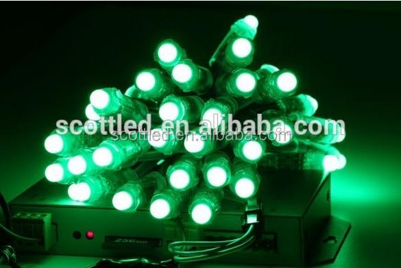 programmable led light string,50pcs/string digital full color ws2801 ws2811 LED pixel strings ...